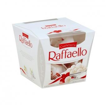 Конфеты Raffaello с миндальным орехом 150г.