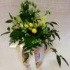 Gėlių kompozicija ant taupyklės 2