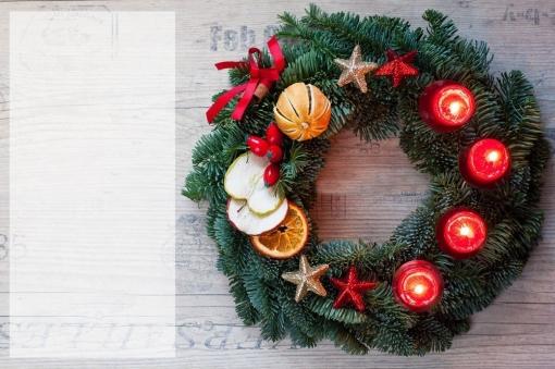 Kalėdinis vainikas 1