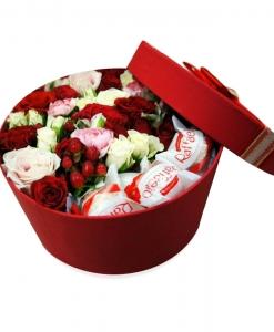 (Lietuvių) Gėlių dėžutė saldus bučinys