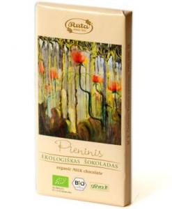 Ekologiškas pieninis šokoladas, 100 g