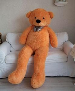 Pliušinis meškinas Tedis, švesiai rudas