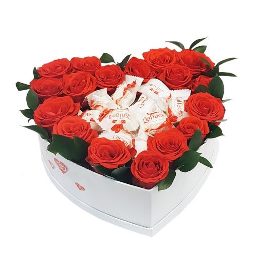 Gėlių dėžutė su Rafaello 1
